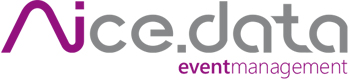 Nicedata – Eventmanagement Logo
